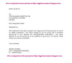 ideas of resignation letter format marriage reason on proposal