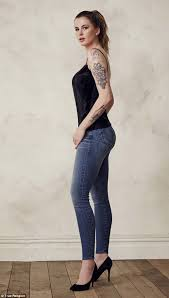 ireland baldwin shows off tattoos in ad for true religion