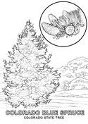 flag of colorado coloring page free printable coloring pages