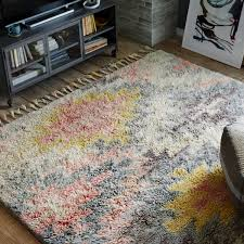 wool rug ashik wool rug multi west elm uk