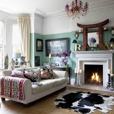 unique cow inspired area rug for elegant living room decorating