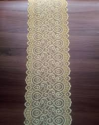 gold lace table runner marigold lace table runner gold lace runner table runner 7