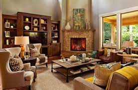 Stunning Cozy Living Room Images Awesome Design Ideas Slovenkyus - Living rooms with fireplaces design ideas