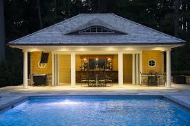 Pool House Cabana by Pool Houses Neave Carpentry