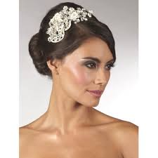 bridal headpieces uk wedding side tiaras bridal hair accessories lace and favour