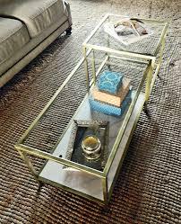 gold side table ikea diy glam ikea hack coffee table edition