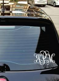 monogram car decal car decal monogram monograms for cars trucks and suv s