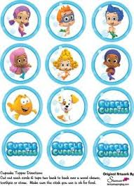 guppie cake toppers free printable guppies cupcake toppers things i