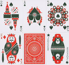 russian folk cards rareplayingcards