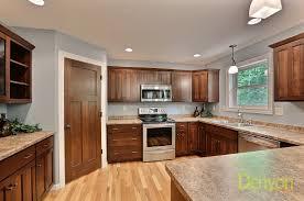 Mission Cabinets Kitchen Blonde Cabinets Kitchen Kitchen Cabinet Ideas