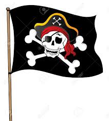 Picture Of A Pirate Flag Pirate Flag Clip Art Clipart Download Clipartbarn