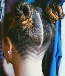 fades and shave hairstyle for women 15 best fade shaved design images on pinterest shaved hairstyles