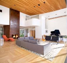 Dining Room With Fireplace by Sculptural Fireplace Dining Room Contemporary With Concrete Floor