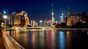shanghai china wallpapers lights light night river tower china bridge skyscraper shanghai
