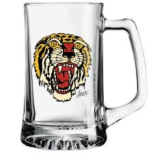 sailor jerry tiger glass mug skateboards amsterdam