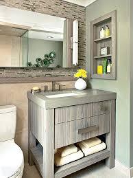 Open Shelf Bathroom Vanity Vanity With Open Shelves Bathroom Rustic Vanity Ideas White Finish