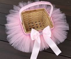 princess easter basket princess easter tutu basket flower girl basket tutu basket