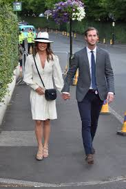 pippa middleton resurfaces with james matthews at wimbledon pics
