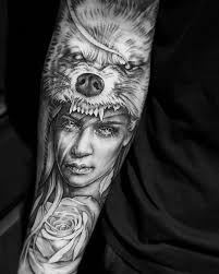 the 25 best wolf tattoos ideas on pinterest wolf headdress