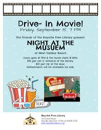 bfl event drive in movie village of bayville ny