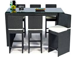 Patio Furniture Bar Set - choosing wood for your patio furniture rattan and wicker