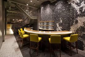 ramen bar suzuki extraordinary restaurant design with mosaic walls