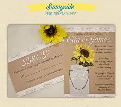 sunflower wedding invitations 21 sunflower wedding invitation templates free sle exle
