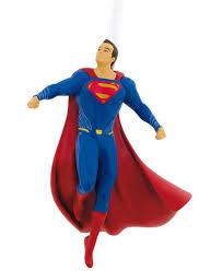 hallmark resin figural superman ornament ornaments
