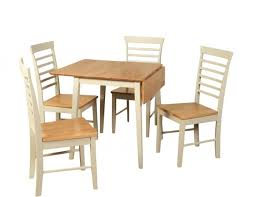 Square Drop Leaf Table Berlin Two Tone Square Drop Leaf Table And Chairs Drop Leaf Tables