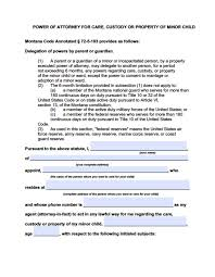 Irs Form 2848 Power Of Attorney by Montana Medical Power Of Attorney Form Power Of Attorney Power