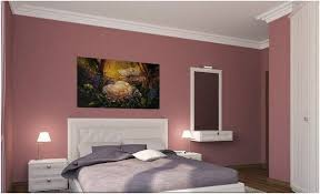 altrosa bedroom decor ideas for color combinations as wall paint