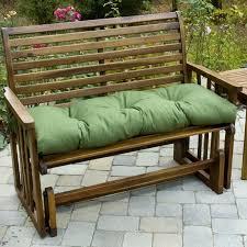 green bench cushion patio swing bench cushions patio furniture conversation sets