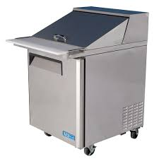 Refrigerated Prep Table by Turbo Air 28 Inch Refrigerated Food Prep Table With 12 1 6 Size