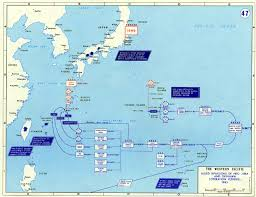 University Of Wisconsin Madison Map by Map Studies Of The Pacific Theater Wisconsin Historical Society