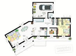 plan de maison 4 chambres gratuit ordinaire modele de cuisine provencale 14 pin plan de maison a