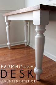 diy farmhouse writing desk best home furniture decoration