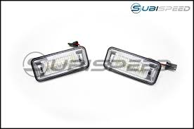 olm led license plate bulbs 15 wrx sti 13 brz 14