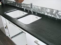 finition plan de travail cuisine plan de travail cuisine composite vasque sur mesure lineal cuve