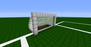 minecraft soccer multiplayer minecraft project with soccer goal