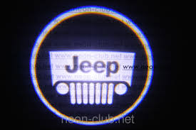jeep batman logo neon car logo
