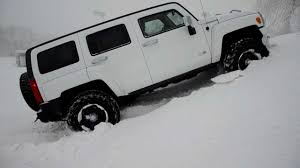 hummer jeep white snow u0026 hummer 2013 youtube