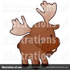 moose clipart 230053 illustration by bnp design studio