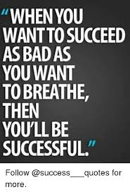 Success Memes - when you wantto succeed as badas you want to breathe then you ll be