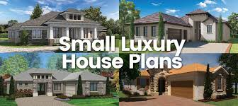 luxury home plans small luxury house plans sater design collection home plans