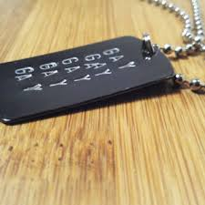 personalized dog tag necklace shop personalized dog tags for men on wanelo