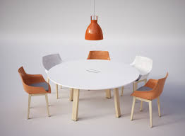 Circular Meeting Table Take Off Country Italian Design Circular Meeting Table
