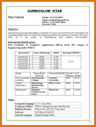Sql Resume For Freshers 8 B Pharmacy Resume Format For Freshers Pdf Texas Tech Rehab
