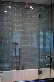 bathroom glass tile ideas glass subway tile bathroom my web value