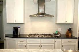 frosted glass backsplash in kitchen glass tile backsplashes by cool subway glass tiles for kitchen