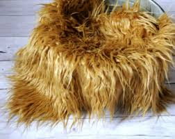 Mongolian Faux Fur Rug 18x20 Curly Alpaca Faux Fur Newborn Photo Prop